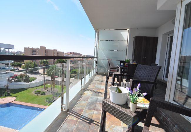 Apartment in Rosas / Roses - 1H - PRI - TIPOA - 412 PORTOMAR PLUS - REF: 101252