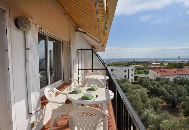 Apartment in Rosas / Roses - 1141 MAS OLIVA con Piscina
