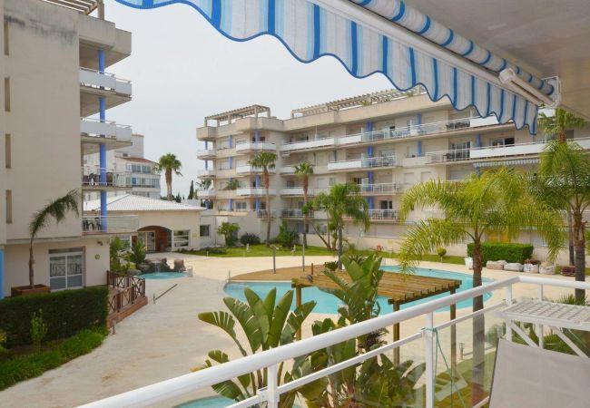Apartment in Rosas / Roses - ISAR10-APARTAMENTO 5 PAX CON PISCINA