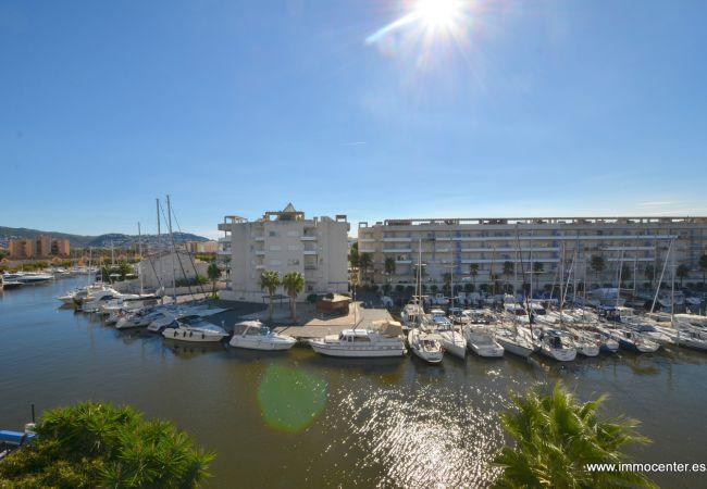 Apartment in Rosas / Roses - ISAR21- Apartamento con vista a los canales