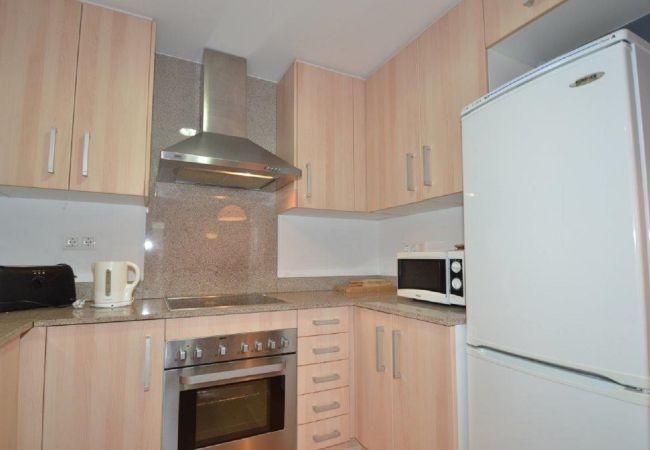 Apartment in Rosas / Roses - ISAR26- Apartamento 4 pax con terraza y piscina